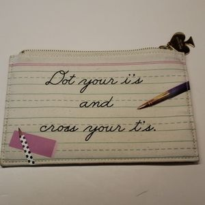 Kate Spade pencil bag or makeup bag